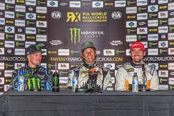Петер Сольберг, PSRX Citroën DS3 RX, Андреас Баккеруд, Hoonigan Racing Division Ford и Тимур Тимерзя