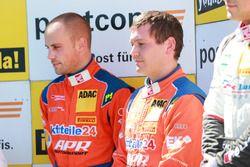 Podyum: #24 kfzteile24 - APR Motorsport, Audi R8 LMS: Florian Stoll, Laurens Vanthoor