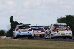 Jason Plato, Silverline Subaru BMR Racing; Hunter Abbott, Power Maxed Racing