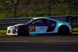 #27 Sainteloc Racing Audi R8 LMS: Mickael Blanchemain, Gilles Lallement, Valentin Hasse-Clot, Jean-P