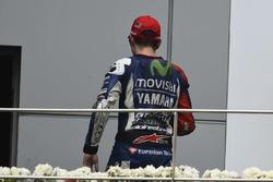 Jorge Lorenzo, Yamaha leaving the podium early