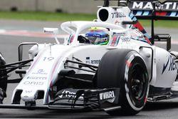 Felipe Massa, Williams FW38, mit Cockpitschutz Halo