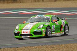 Porsche Cayman GT4 CS #256, Mercatali-Ceccotto, Dinamic Motorsport