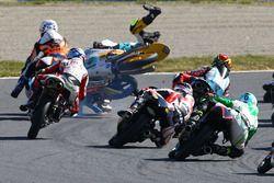 John McPhee, Peugeot MC Saxoprint, Jorge Navarro, Estrella Galicia 0,0, Gabriel Rodrigo, RBA Racing
