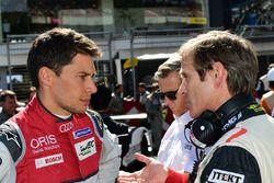 #8 Audi Sport Team Joest Audi R18 e-tron quattro: Loic Duval and Pascal Vasselon, Toyota Motorsport