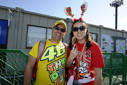Fans of Valentino Rossi, Yamaha Factory Racing, Marc Marquez, Repsol Honda Team