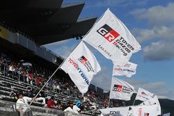 Drapeaux Toyota Racing