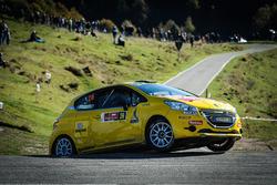 Gianluca Tavelli e Nicolò Cottellero, Peugeot 208 R2B