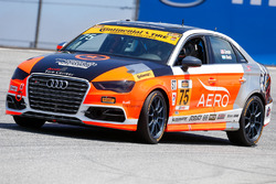 #75 Compass360 Racing Audi S3: Roy Block, Kyle Gimple