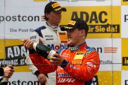Podium: #25 kfzteile24 - APR Motorsport, Audi R8 LMS: Daniel Dobitsch
