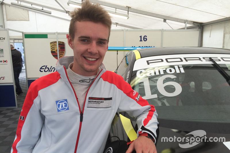 Matteo Cairoli il più veloce nelle libere di Monza