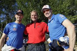 Sébastien Ogier, Volkswagen Motorsport, Jari-Matti Latvala, Volkswagen Motorsport met Juha Kankkunen