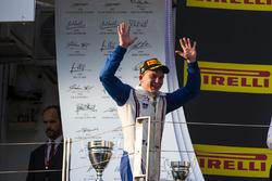 Ganador de la carrera Matthew Parry, Koiranen GP