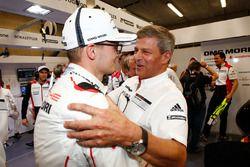 Marc Lieb, Fritz Enzinger, Vice President LMP1, Porsche Team