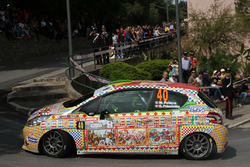 Marco Pollara, Giuseppe Princiotto, Peugeot 208 VTI R R2B, CST Sport