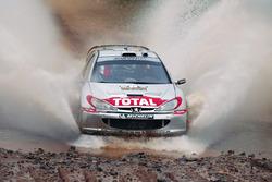 Ричард Бёрнс и Роберт Рид, Peugeot 206 WRC, Ралли Аргентина 2002 года