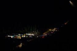 Der Startpunkt Glen Cove am Devil's Playground vor Sonnenaufgang