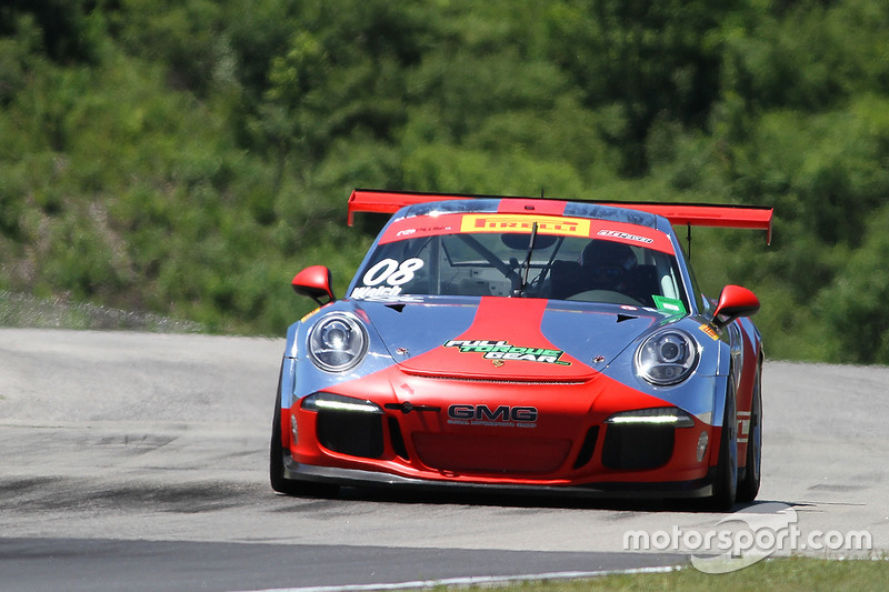 #08 GMG Racing Porsche 911 GT3 Cup: Alex Welch