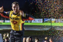Race winner Alex Labbé