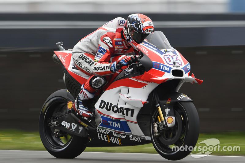 Ducati prend les devants