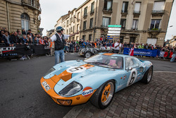Ford GT40 parade
