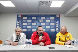 Alessandro Mariani, Team Principal Honda Team JAS; Yves Matton, Director of Citroen Racing; Viktor Shapovalo, Team manager Lada Sport Rosneft team