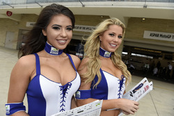 Les grid girls Yamaha