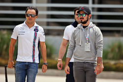 Felipe Massa und Bruder Dudu Massa