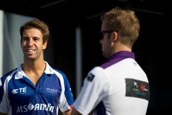 Antonio Felix da Costa, Amlin Andretti Formula E Team; Sam Bird, DS Virgin Racing