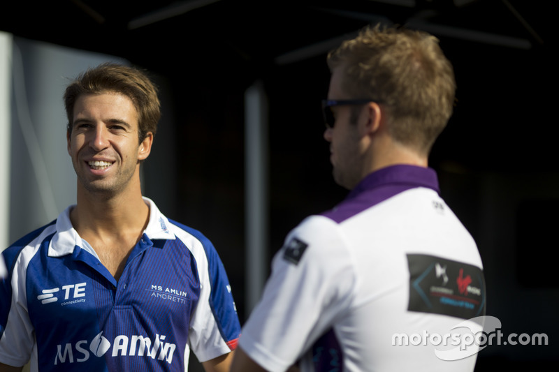 Antonio Félix Da Costa, Amlin Andretti Formula E Team, e Sam Bird, DS Virgin Racing