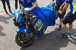L' incidente Maverick Viñales, Team Suzuki MotoGP