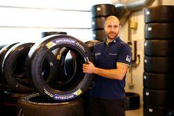 Tecnici Michelin a lavoro