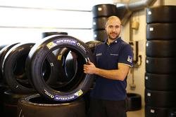 Michelin technician at work