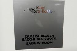 Taller de la Escudería Toro Rosso