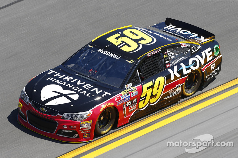 #59 Michael McDowell (Circle/Leavine-Chevrolet)