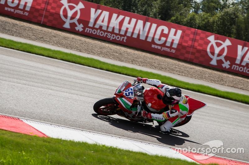 Владимир Леонов, Moscow Raceway, 2012