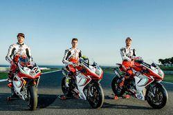 Leon Camier, Jules Cluzel ve Lorenzo Zanetti, MV Agusta F4 RC