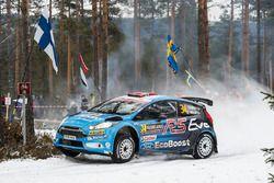 Eyvind Brynildsen, Anders Fredriksson, M-Sport Ford Fiesta WRC