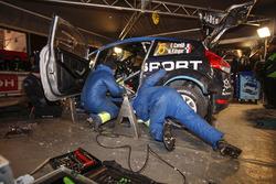 M-Sport Ford Fiesta WRC team area