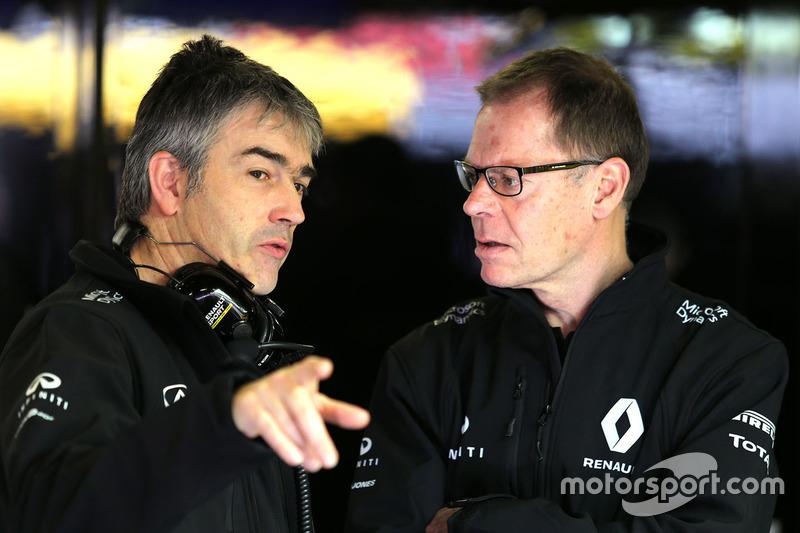 Nick Chester, Renault Sport F1 Team, Technischer Direktor