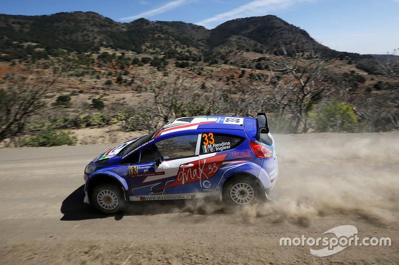 Massimiliano Rendina, Emanuele Inglesi, Ford Fiesta R5