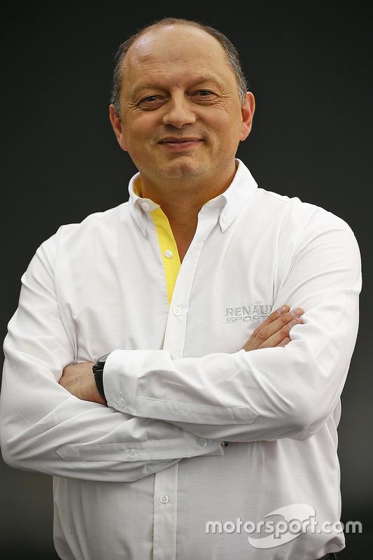 Frederic Vasseur, Renault Sport Formula One Team Racing Director