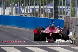 Unfall von Loïc Duval, Dragon Racing