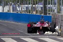 Loïc Duval, Dragon Racing, l'incidente dello shake down