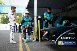 Sam Bird, DS Virgin Racing Formula E Team and Nelson Piquet Jr., NEXTEV TCR Formula E Team