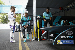 Sam Bird, DS Virgin Racing Formula E Team and Nelson Piquet Jr., NEXTEV TCR Formula E Team