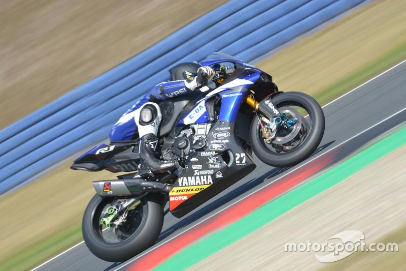 #14, Maco Racing Team, Yamaha: Gregory Junod, Anthony Dos Santos, Marco Jerman