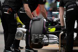 Des souffleuses Mercedes AMG F1