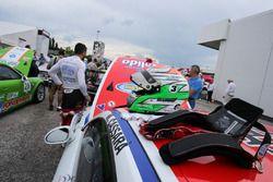 Il casco di Marco Cassarà, Ghinzani Arco Motorsport - Roma