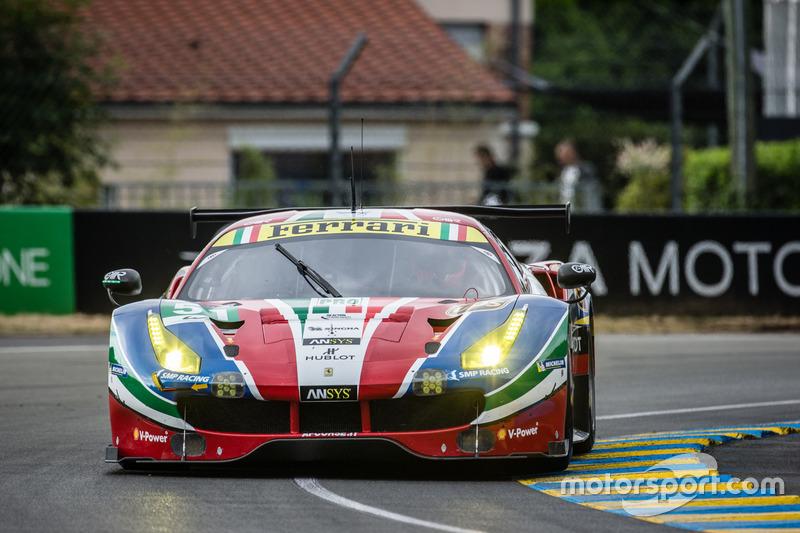 #51 AF Corse Ferrari 488 GTE: Джанмарія Бруні, Джеймс Калладо, Алессандро, П'єр Гуіді